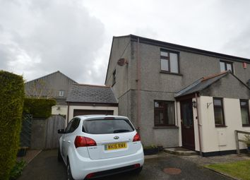 Thumbnail 2 bed semi-detached house for sale in Henscol, Lanner