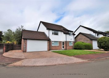 Thumbnail 4 bed detached house for sale in Chartwell Drive, Lisvane, Cardiff
