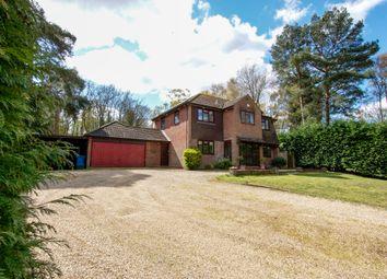 Odiham Road, Winchfield, Hook RG27. 4 bed detached house for sale