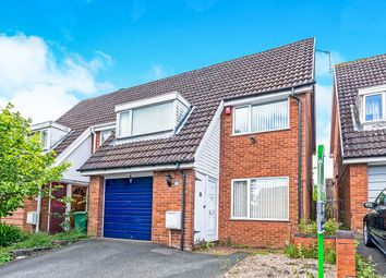 Thumbnail 3 bedroom semi-detached house for sale in Ludford Drive, Stirchley, Telford