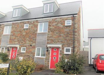 Thumbnail 2 bed semi-detached house to rent in Codling Close, St. Austell