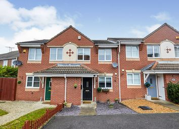 Thumbnail 2 bed terraced house for sale in Ensor Close, Swadlincote, Derbyshire