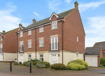 Thumbnail 4 bed town house for sale in Montague Drive, Newbury