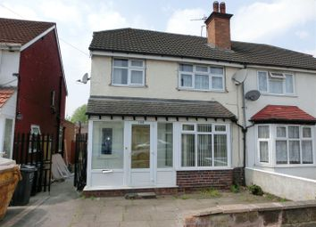 Thumbnail 3 bed property for sale in Tetley Road, Hall Green, Birmingham