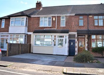 Thumbnail 3 bed town house for sale in Totland Road, Leicester