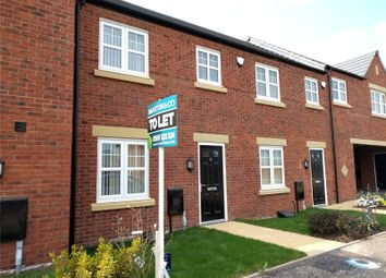Thumbnail 3 bed town house to rent in Carnation Road, Loughborough, Leicestershire