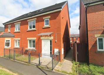 Thumbnail 4 bed semi-detached house for sale in Halbury Walk, Bolton