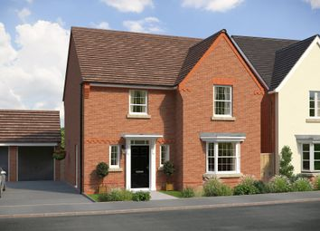 "Thumbnail 3 bedroom detached house for sale in ""Dunham"" at Burnby Lane, Pocklington, York"