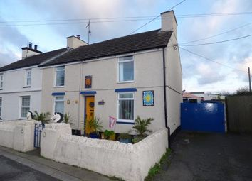 Thumbnail 2 bed end terrace house for sale in Llanddeusant, Holyhead, Sir Ynys Mon