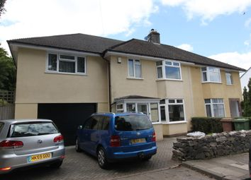 Thumbnail 4 bed semi-detached house to rent in Great Berry Road, Plymouth