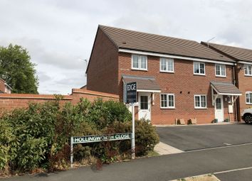 Thumbnail 3 bed semi-detached house for sale in Hollingworth Close, Stone, Staffordshire