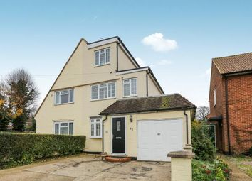 Thumbnail 4 bed semi-detached house for sale in Eastern Way, Letchworth Garden City, Hertfordshire, England