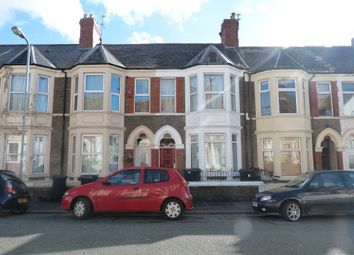 Thumbnail 4 bed property to rent in Monthermer Road, Roath, Cardiff