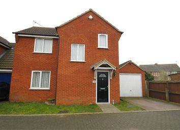 Thumbnail 3 bed detached house for sale in Clapgate Lane, Ipswich, Suffolk
