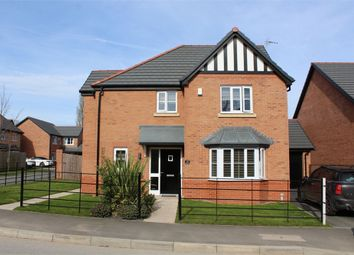 Thumbnail 4 bed detached house for sale in Britannia Road, Cuddington, Northwich, Cheshire