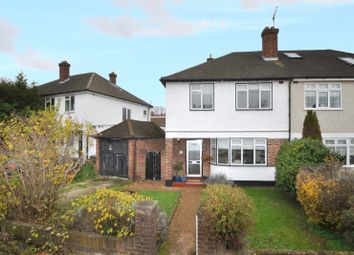 Thumbnail 3 bed semi-detached house for sale in The Glade, Bickley, Bromley