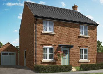 "Thumbnail 4 bedroom detached house for sale in ""The Polebrook"" at Hill Top Close, Market Harborough"
