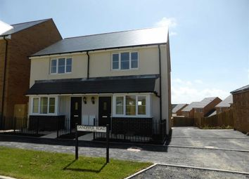 Thumbnail 2 bed semi-detached house to rent in Sandpiper Road, Bude, Cornwall