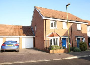 Thumbnail 3 bedroom semi-detached house to rent in Aldermere Avenue, Cheshunt, Waltham Cross