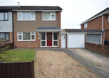 Thumbnail 3 bed semi-detached house for sale in Halton Crescent, Great Sutton, Ellesmere Port