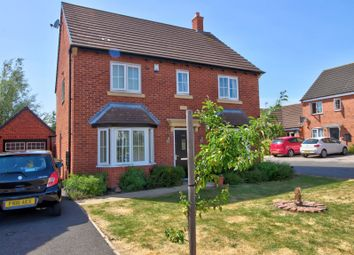 Thumbnail 4 bed detached house for sale in Abbott Drive, Stoney Stanton, Leicester