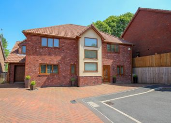 Thumbnail 5 bed detached house for sale in Friars Mead, Pentwynmawr, Newbridge