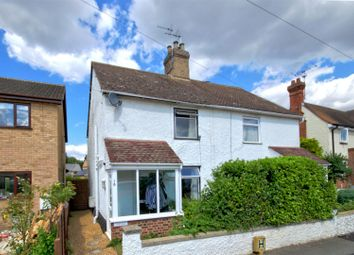 Thumbnail 2 bedroom semi-detached house for sale in Church Road, Hauxton, Cambridge