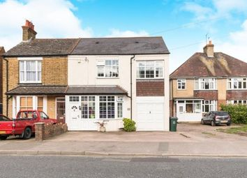 Thumbnail 4 bed semi-detached house for sale in Main Road, Sutton At Hone, Dartford, Kent