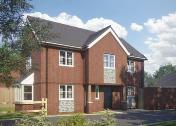 Thumbnail 4 bed detached house for sale in Hambledon Road, Waterlooville