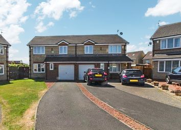 Thumbnail 3 bed semi-detached house for sale in Humford Green, Blyth