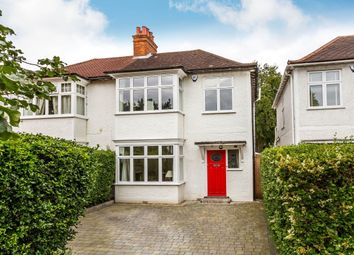 Thumbnail 4 bed semi-detached house for sale in Mostyn Road, London