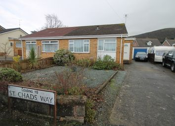 Thumbnail 2 bedroom semi-detached bungalow to rent in The Meadows, Prestatyn