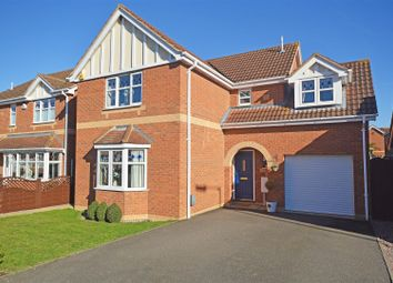 Thumbnail 4 bed detached house for sale in Brunel Drive, Yaxley, Peterborough
