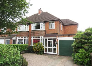 Thumbnail 3 bed semi-detached house for sale in Charles Road, Solihull