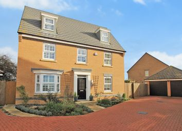 Thumbnail 5 bed detached house for sale in Lofthouse Way, Longstanton, Cambridge