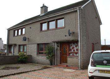 Thumbnail 2 bed semi-detached house to rent in Fraser Place, Kemnay, Aberdeenshire