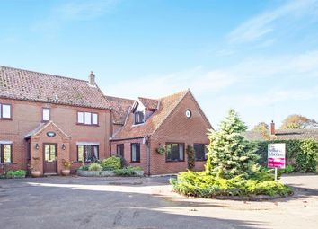 Thumbnail 6 bed detached house for sale in Main Road, Narborough, King's Lynn