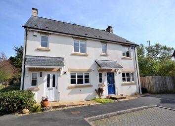 Thumbnail 3 bed semi-detached house for sale in Boconnoc Avenue, Callington, Cornwall