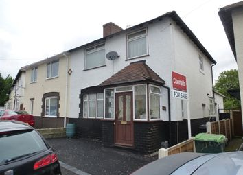 Thumbnail 3 bedroom semi-detached house for sale in Graham Road, West Bromwich