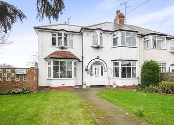 Thumbnail 3 bedroom semi-detached house for sale in Kingston Road, Willerby, Hull