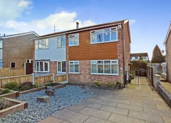 Thumbnail 3 bedroom semi-detached house for sale in Soames Crescent, Longton, Stoke-On-Trent