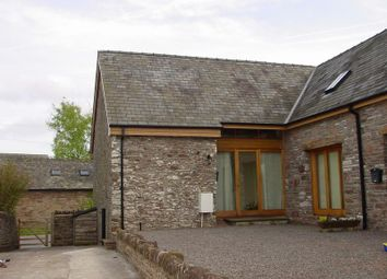 Thumbnail 2 bed barn conversion to rent in Llanfihangel Talyllyn, Llanfihangel Talyllyn, Brecon
