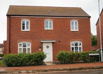 Thumbnail 3 bed detached house for sale in Clarke Road, Newport