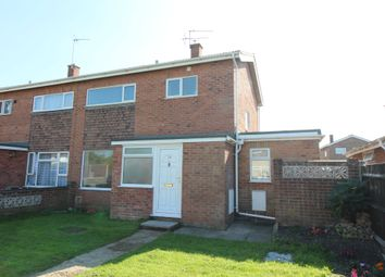 Thumbnail 3 bed semi-detached house for sale in Heather Gardens, Belton, Great Yarmouth