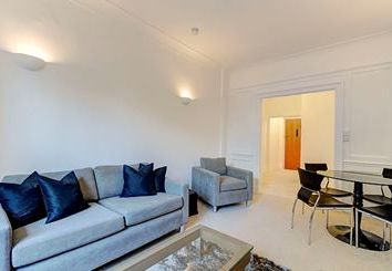 Thumbnail 1 bedroom flat to rent in Strathmore Court, London