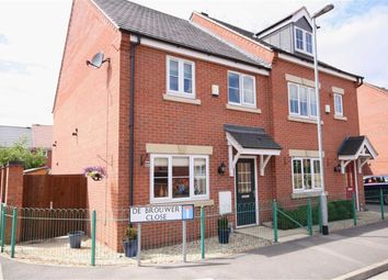 Thumbnail 3 bed semi-detached house for sale in De Brouwer Close, Retford, Nottinghamshire