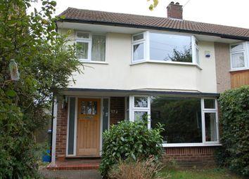 Thumbnail 3 bed semi-detached house for sale in Buckingham Road, Hampton
