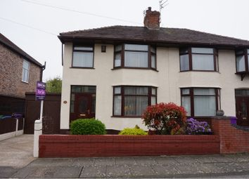 Thumbnail 3 bed semi-detached house for sale in Crescent Road, Liverpool