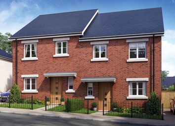 Thumbnail 3 bed semi-detached house for sale in Gleaner Close, Plymouth