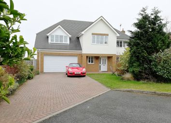 Thumbnail 5 bed detached house for sale in Cwrt Gwyntog, Trelogan, Holywell